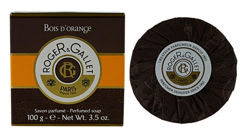 Roger & Gallet Bois d'Orange jabón sólido en caja