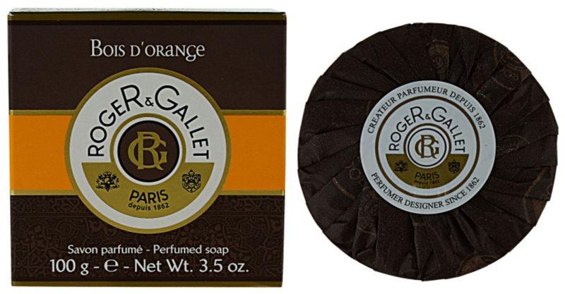 Roger & Gallet Bois d'Orange tuhé mydlo v krabičke