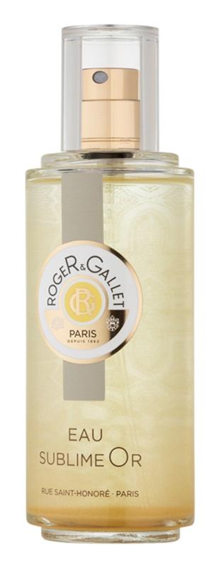 Roger & Gallet Sublime Or Eau de Toilette para mulheres 100 ml
