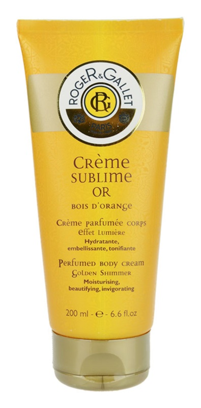 Roger & Gallet Sublime Or Körpercreme