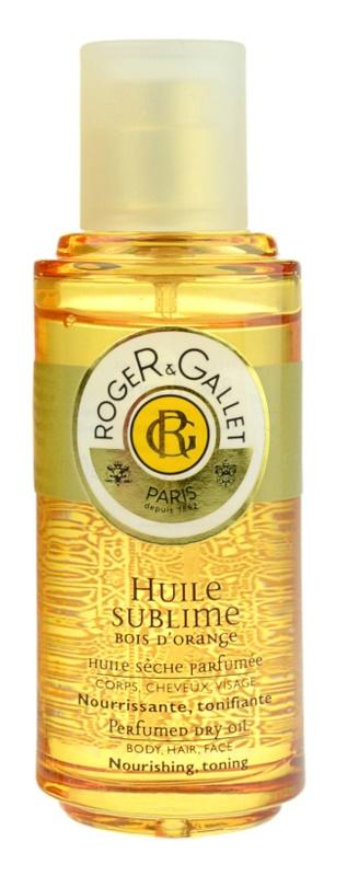 Roger & Gallet Bois d'Orange Sublime ulei de corp