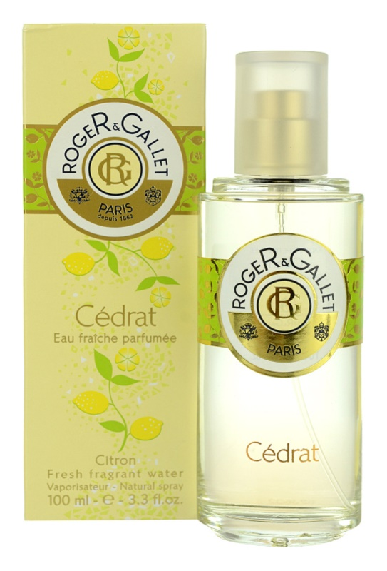 Roger & Gallet Cédrat eau fraiche pentru femei 100 ml