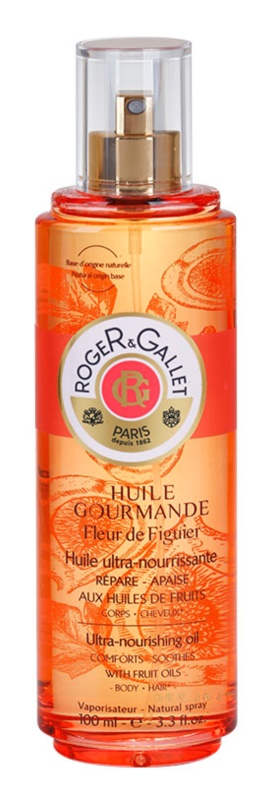 Roger & Gallet Fleur de Figuier Extra Nourishing Oil For Body And Hair