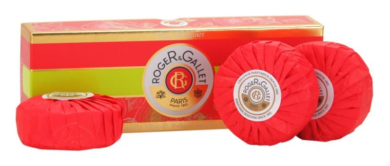 Roger & Gallet Fleur de Figuier kosmetická sada I.
