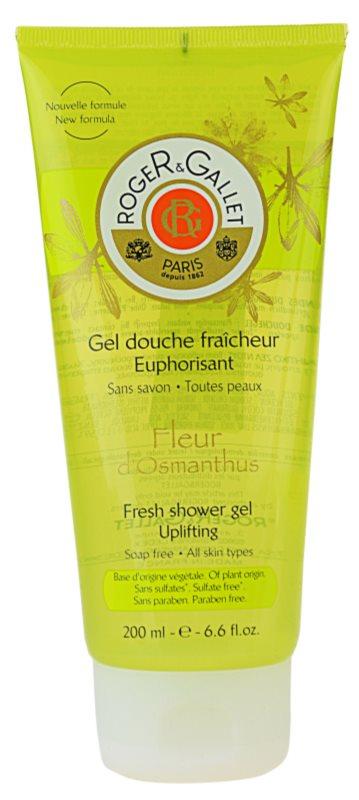 Roger & Gallet Fleur d'Osmanthus gel de ducha refrescante