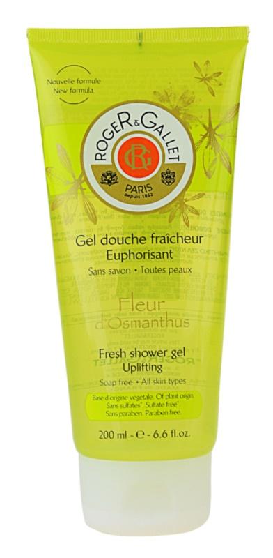 Roger & Gallet Fleur d'Osmanthus osvežujoč gel za prhanje