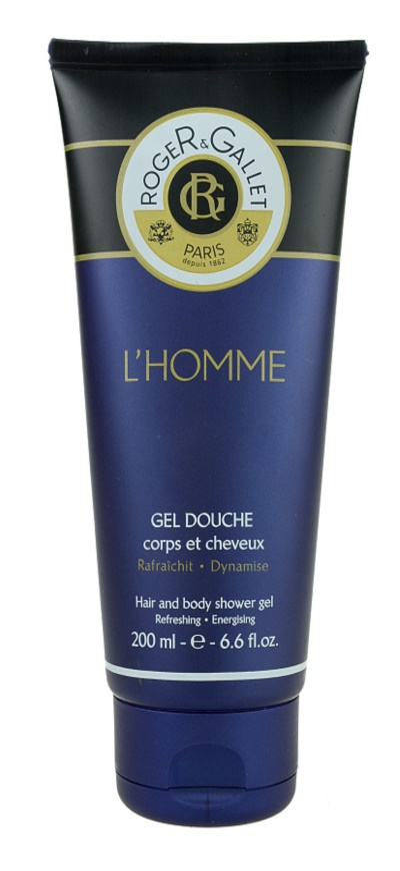 Roger & Gallet Homme gel de duche e champô 2 em 1