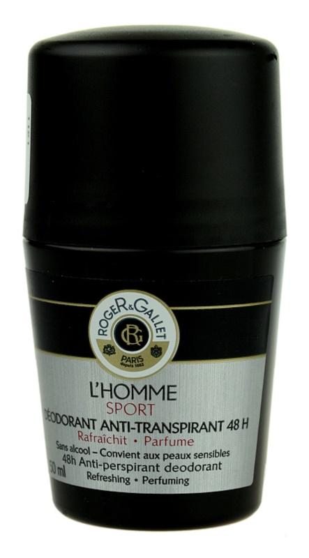 Roger & Gallet L'Homme Sport дезодорант кульковий