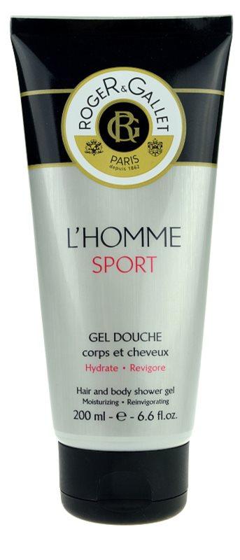 Roger & Gallet L'Homme Sport гель для душу та шампунь 2 в 1