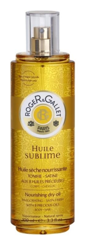 Roger & Gallet Huile Sublime pflegendes Trockenöl Für Körper und Haar
