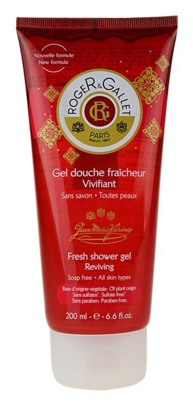 Roger & Gallet Jean-Marie Farina odświeżający żel pod prysznic
