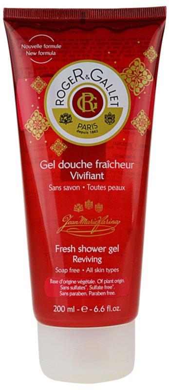 Roger & Gallet Jean-Marie Farina osvežujoč gel za prhanje