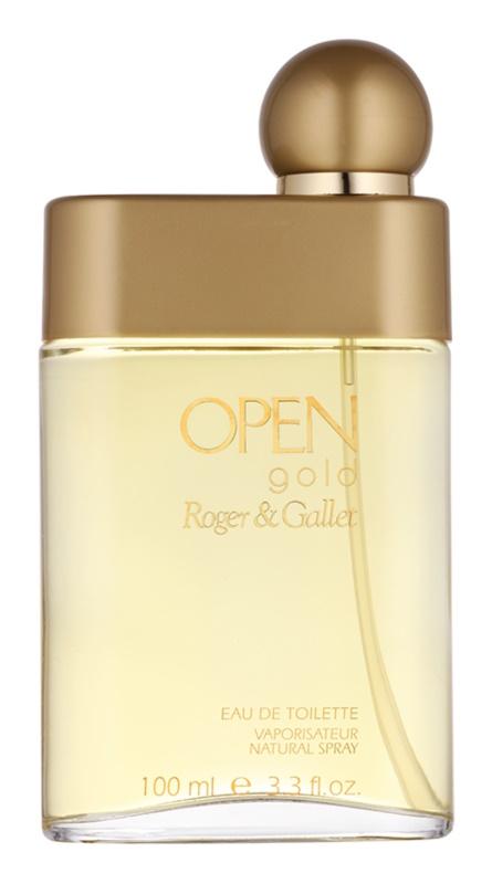Roger & Gallet Open Gold eau de toilette per uomo 100 ml