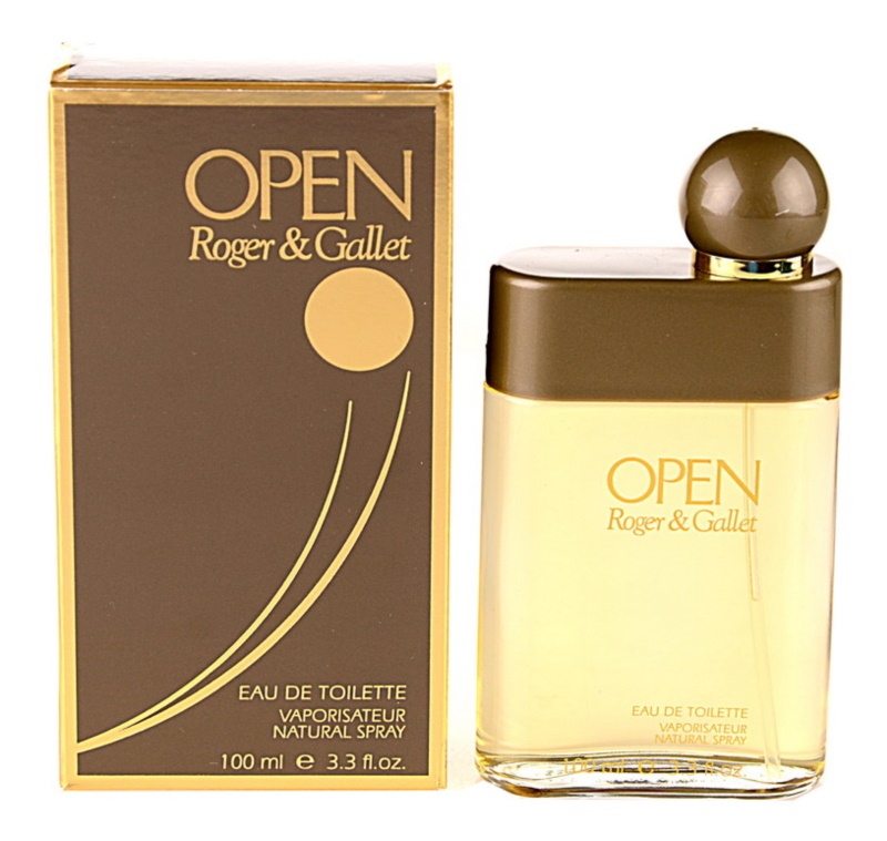 Roger & Gallet Open Eau de Toilette for Men 100 ml