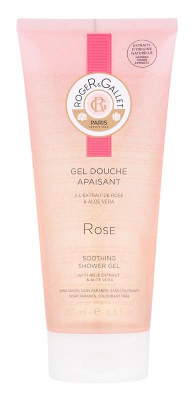 Roger & Gallet Rose gel de dus delicat