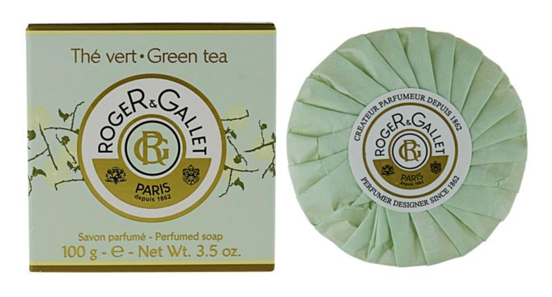 Roger & Gallet Thé Vert sapun solid intr- o cutie