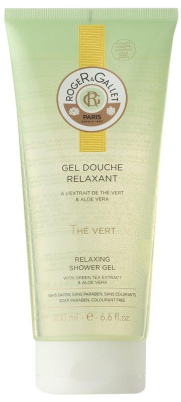 Roger & Gallet Thé Vert ніжний гель для душу