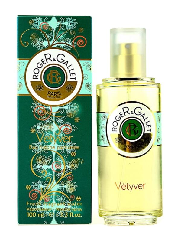 Roger & Gallet Vétyver acqua rinfrescante per uomo 100 ml