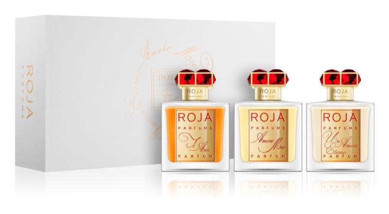 Roja Parfums Profumi D'Amore Collection Geschenkset Ti Amo, Amore Mio, Un Amore Eterno