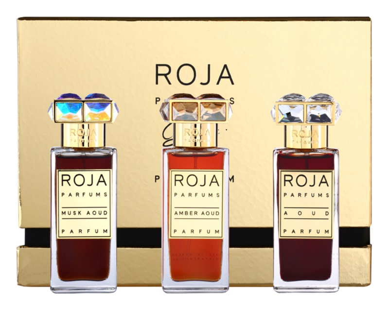 Roja Parfums Aoud Parfum de Voyage coffret cadeau I.