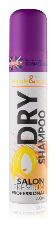 Ronney Dry Shampoo suchý šampon pro blond vlasy