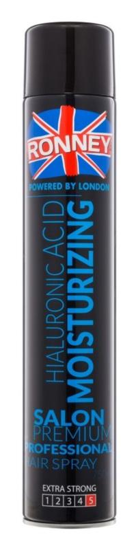 Ronney Hialuronic Acid Moisturizing lak na vlasy pre fixáciu a tvar