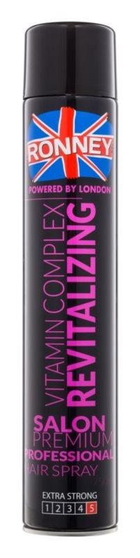 Ronney Vitamin Complex Revitalizing regeneráló hajlakk extra erős fixálással