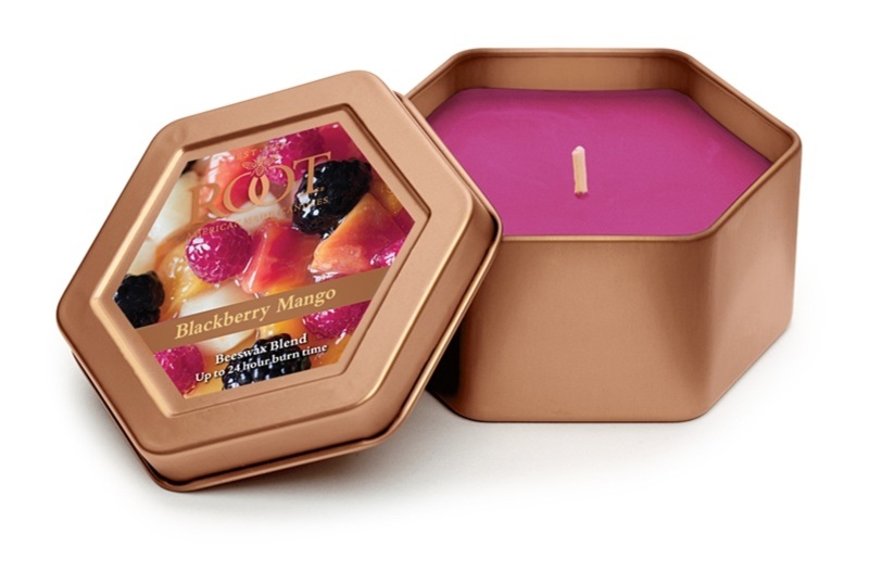 Root Candles Blackberry Mango Scented Candle 113 g in Tin
