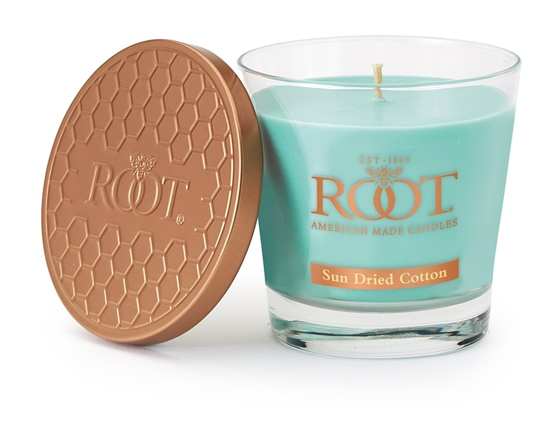 Root Candles Sun Dried Cotton vonná svíčka 179 g
