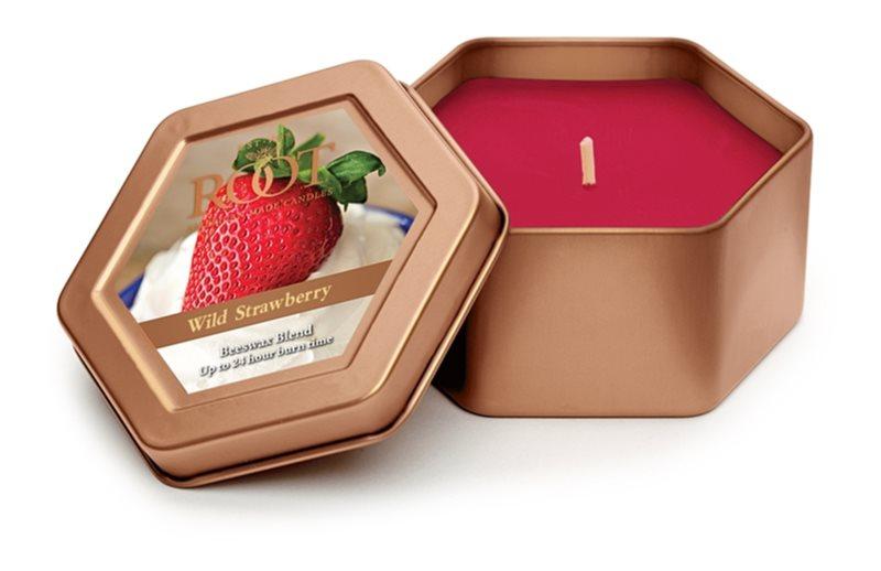 Root Candles Wild Strawberry ароматизована свічка  113 гр в металевій коробці