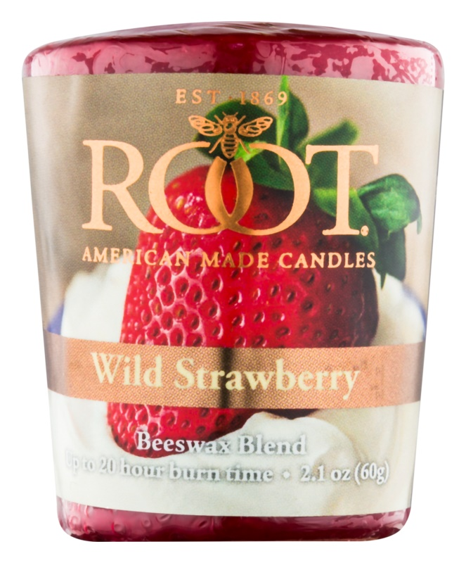Root Candles Wild Strawberry Votiefkaarsen 60 gr