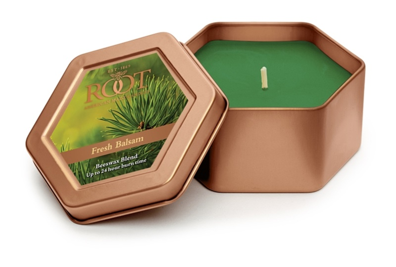 Root Candles Fresh Balsam ароматна свещ  113 гр. в кутия