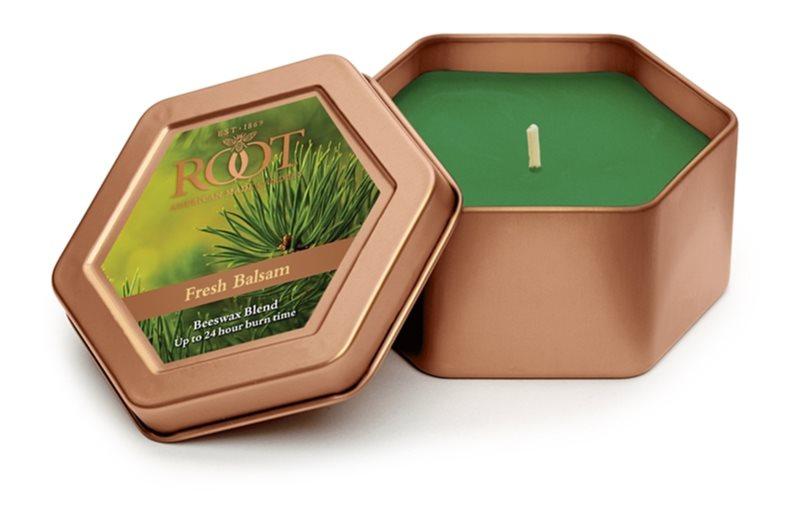 Root Candles Fresh Balsam lumânare parfumată  113 g în placă