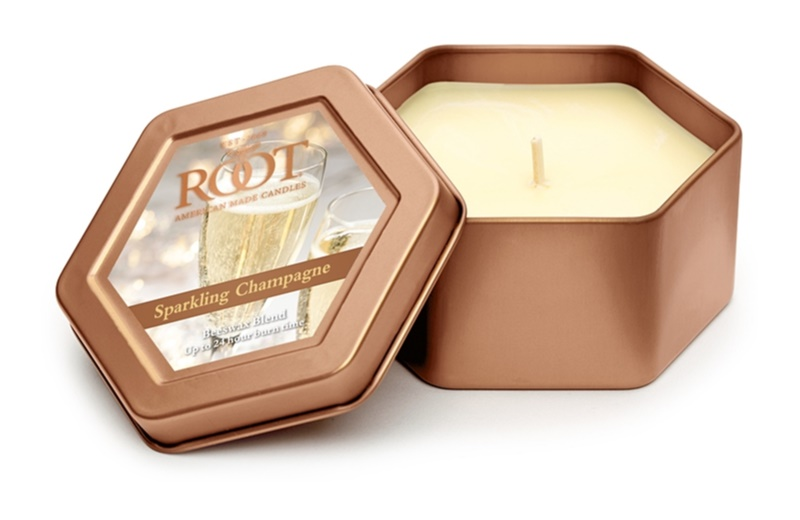 Root Candles Sparkling Champagne Scented Candle 113 g in Tin