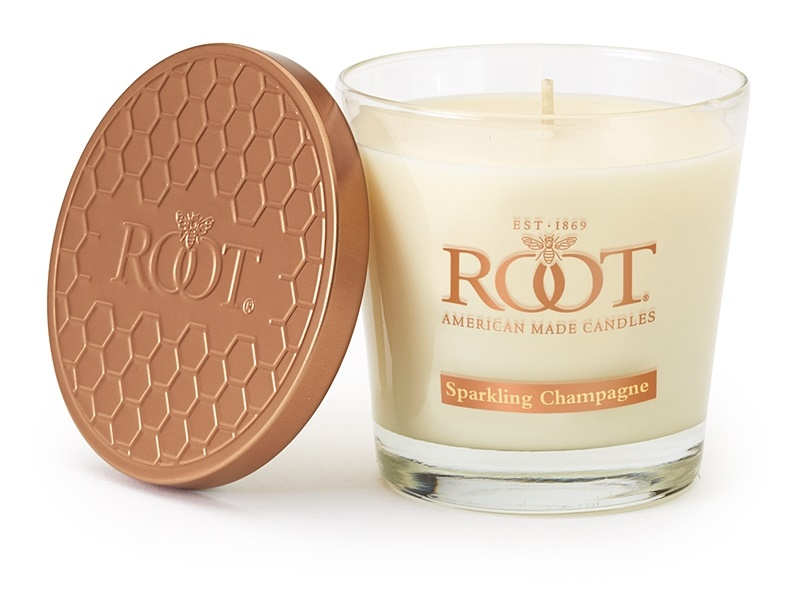Root Candles Sparkling Champagne Geurkaars 179 gr
