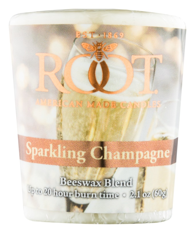 Root Candles Sparkling Champagne Votivkerze 60 g