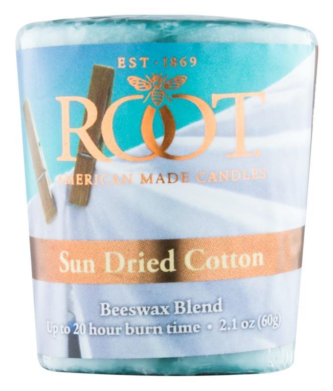 Root Candles Sun Dried Cotton votivní svíčka 60 g