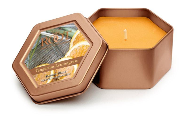 Root Candles Tangerine Lemongrass illatos gyertya  113 g alumínium dobozban