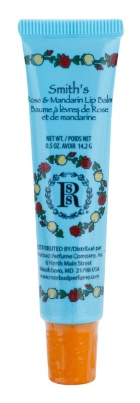 Rosebud Perfume Co. Smith`s Rose & Mandarin Lippenbalsam in der Tube