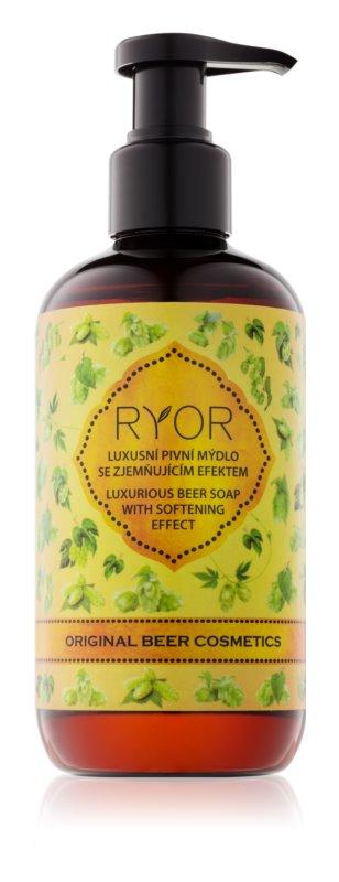 RYOR Wellness and Spa Beer Cosmetics pivní tekuté mýdlo