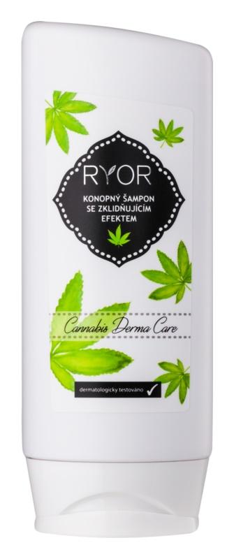 RYOR Hair Care konopljin šampon s pomirjajočim učinkom