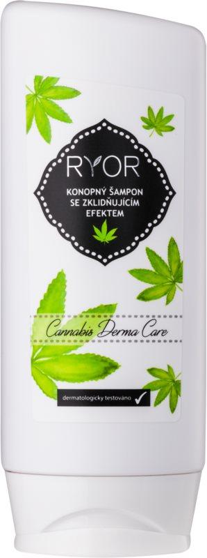 RYOR Hair Care konopný šampón s upokojujúcim efektom
