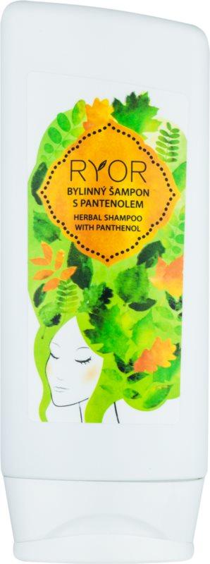 RYOR Hair Care bylinný šampon s panthenolem