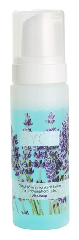 RYOR Aknestop pjena za čišćenje s morskim algama za problematično lice