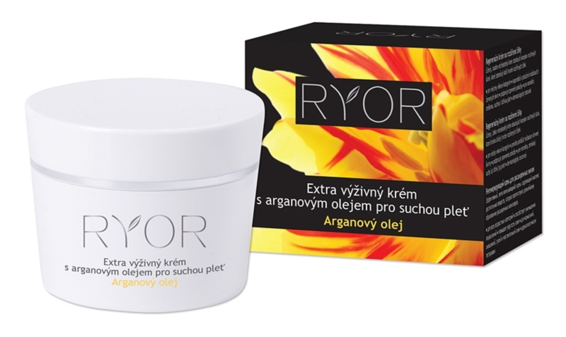 RYOR Argan Oil extra výživný krém pro suchou pleť