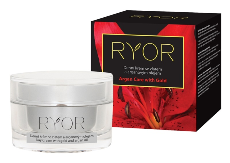 RYOR Argan Care with Gold creme de dia com ouro e óleo de argan