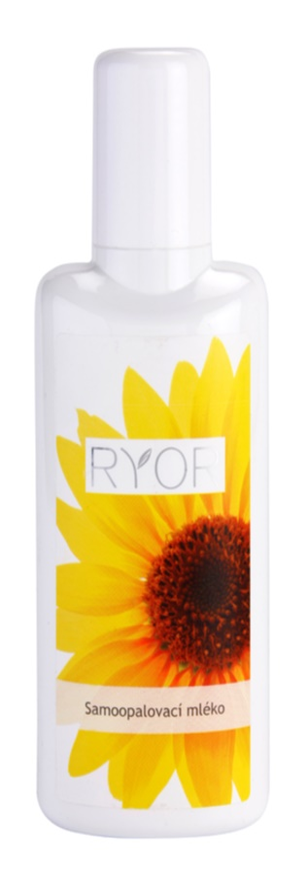 RYOR Face & Body Care lait corporel auto-bronzant