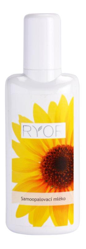 RYOR Face & Body Care latte autoabbronzante corpo