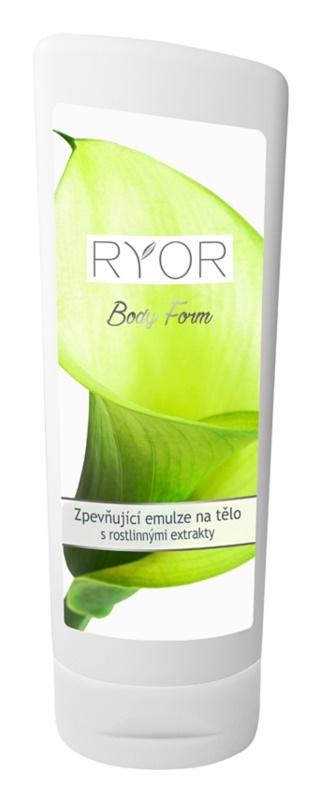 RYOR Body Form spevňujúca emulzia s rastlinnými extraktmi a proteínmi