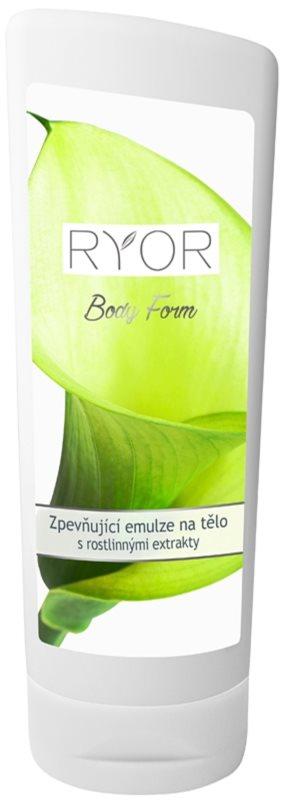 RYOR Body Form učvrstitvena emulzija z rastlinskimi izvlečki in proteini